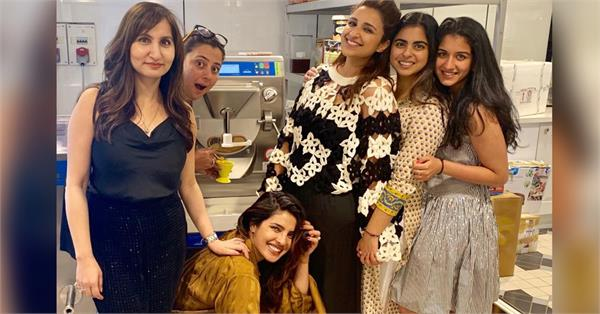 isha ambani host party for priyanka parineeti