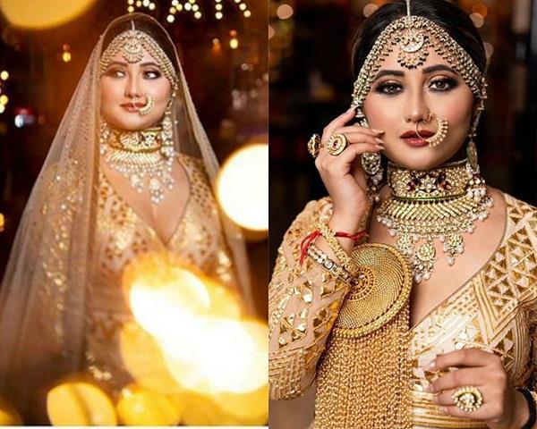 rashami desai bridal photoshoot