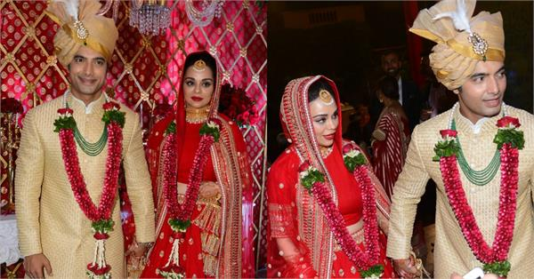 sharad malhotra and ripci bhatia hindu wedding photos