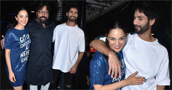kabir singh wrap up party pics