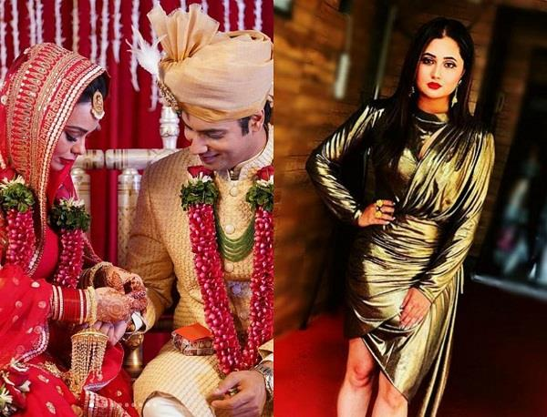 rashmi desai shocking reaction on sharad malhotra wedding