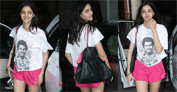 ananya pandey dance class pictures