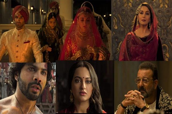 box office collection of kalank