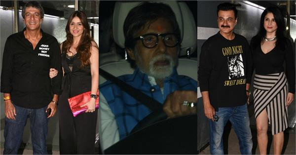 bollywood stars snapped at birthday bash of maheep kapoor