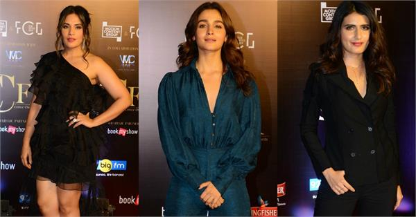 alia bhatt richa chadda and many stars attend critics choice film awards 2019