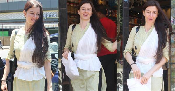 arbaaz khan gf giorgia andriani spotted outside shop