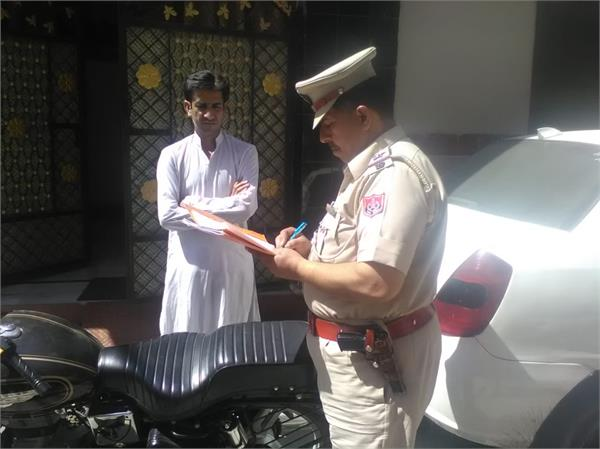 robbery in suit designer house