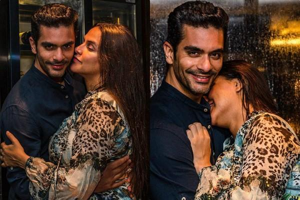 angad bedi share romentic pictures with wife neha dhupia