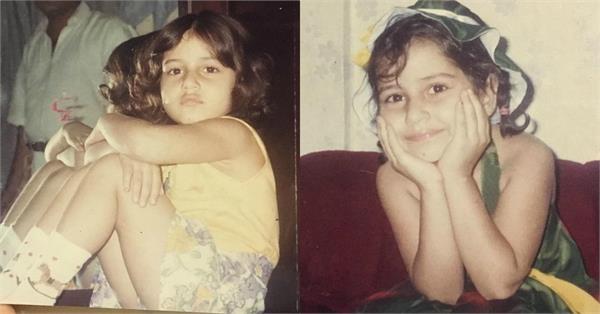 fatima sana shaikh childhood pictures