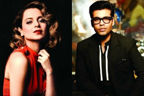 karan johar says kangana is one of the best actresses in bollywood