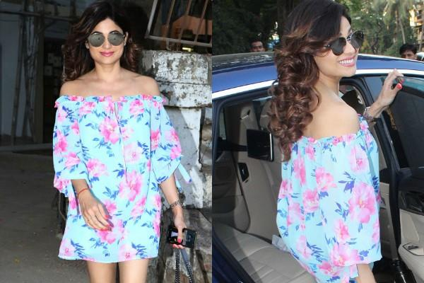 shamita shetty spotted at juhu