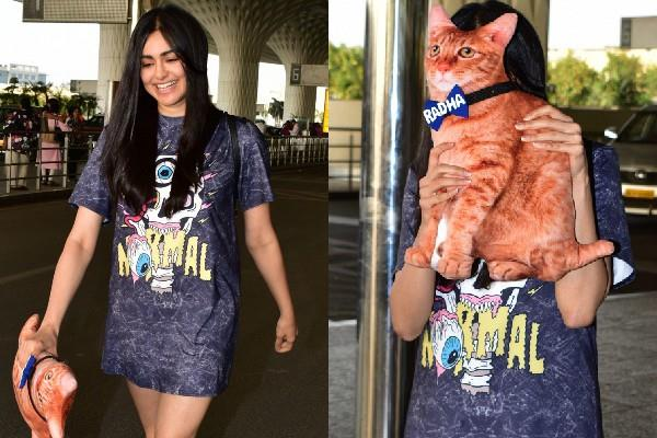 adah sharma spotted at airport