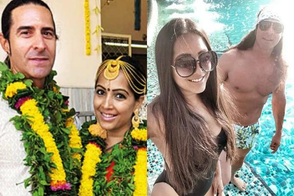 actress has been married to a foreign player