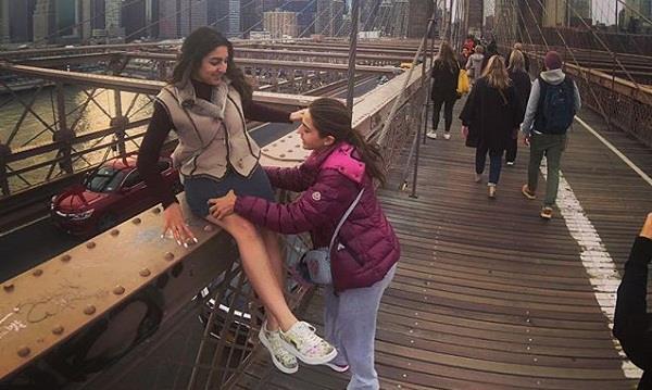 sara ali khan new york vacation photos