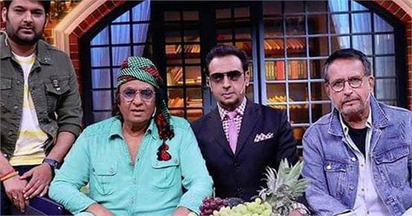 three iconic villian ranjeet gulshan grover kiran kumar on the kapil sharma show