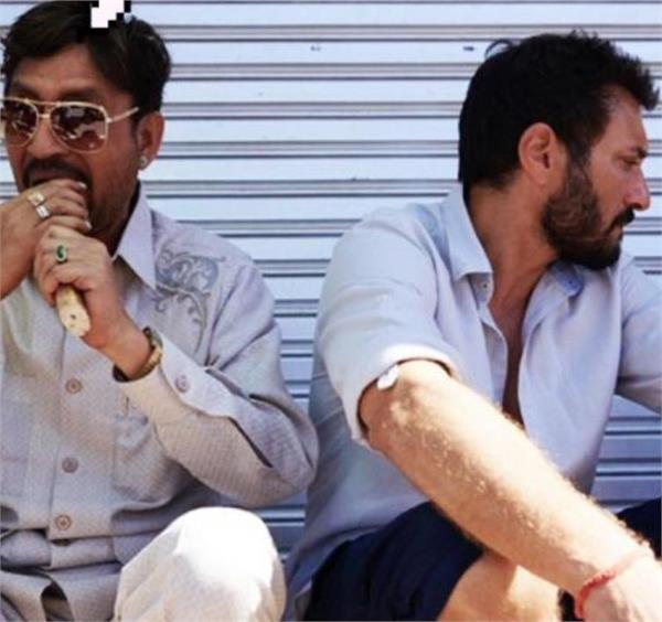irrfan khan shares his own meme from the set of angrezi medium