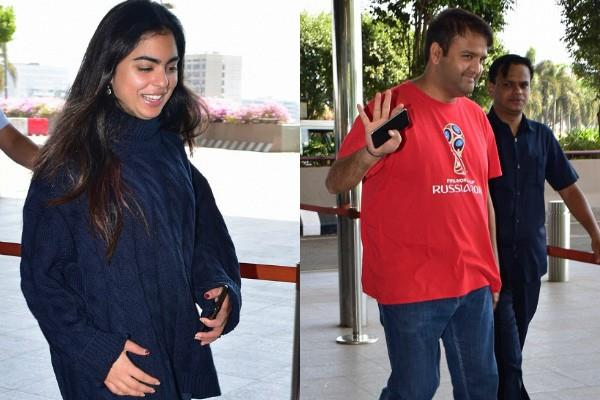 isha ambani anand piramal spotted at airport