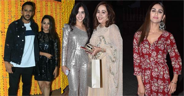 anita hassanandani and other stars attend jeetendra pre birthday bash