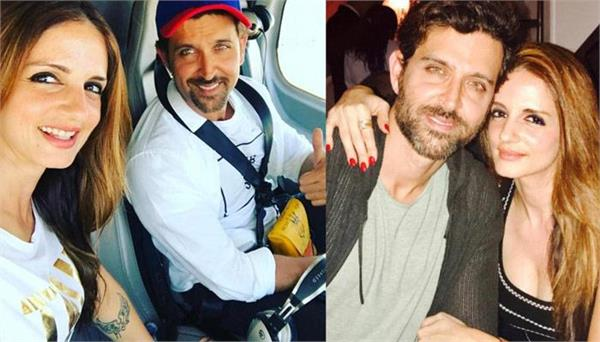 hrithik roshan ex wife sussanne special message for him