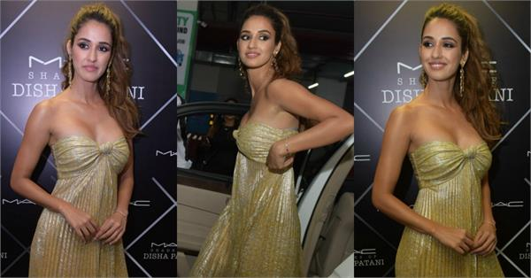 disha patani looks uncomfortable in dress