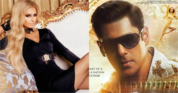 paris hilton is salman khan latest fan