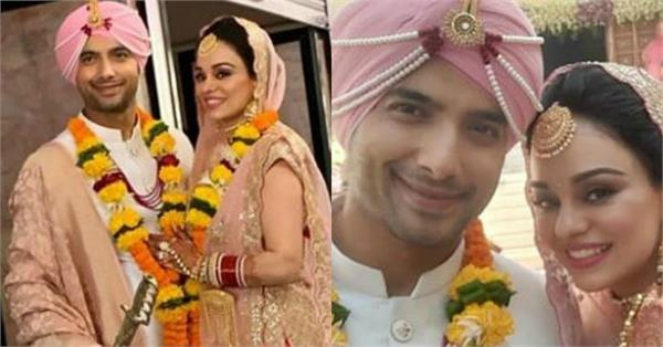 sharad malhotra tie the knot with ripci bhatia