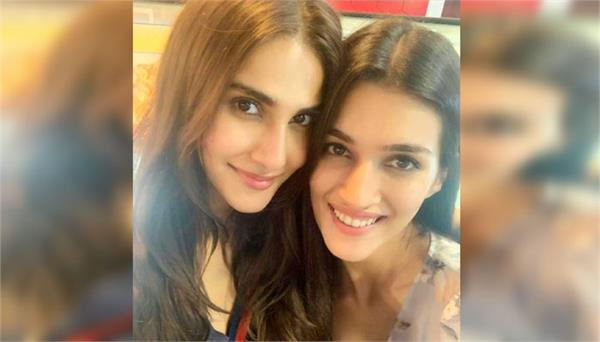 friendship pic between kriti sanon and vaani kapoor gone viral