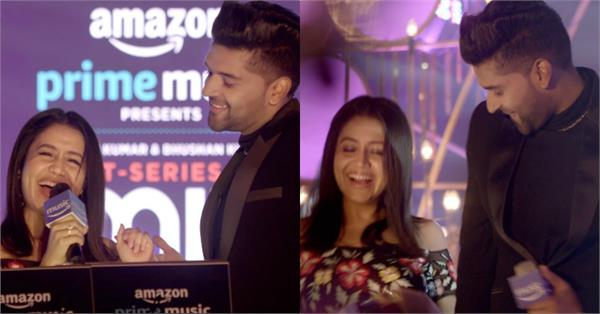 neha kakkar guru randhawa at mixtape season 2