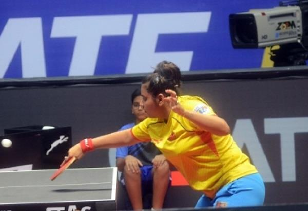 sathita defeats sabine in ittf world championship manika wins