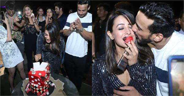 anita hassanandani birthday party pictures