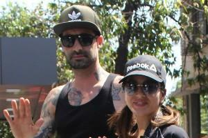 sunny leone cute pictures with hubby daniel weber