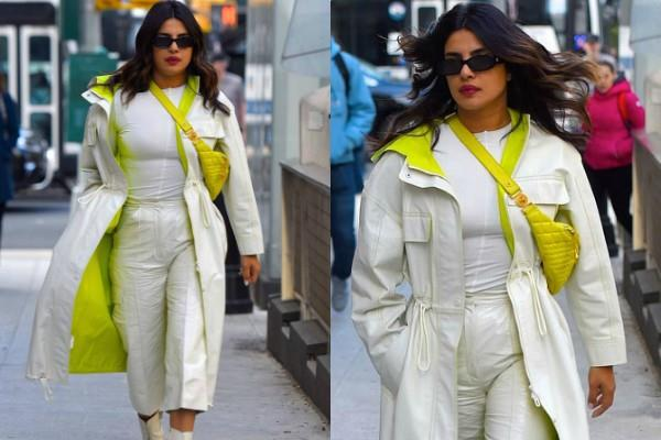 न्यूयॉर्क की सड़कों पर घूमती दिखीं प्रियंका, खास कपड़ो में दिखा अनोखा लुक