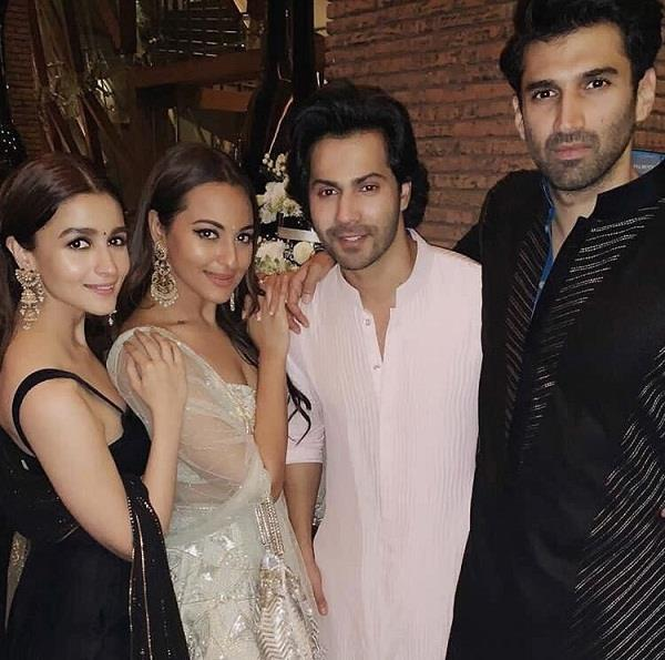 kalank stars at promotion