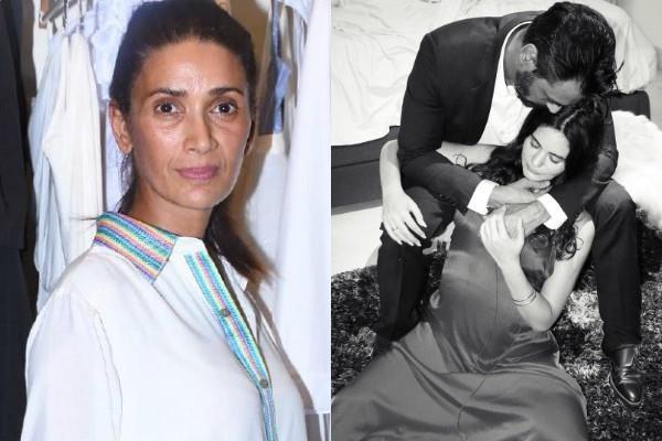 arjun ex wife reaction on girlfriend gabriella pregnancy