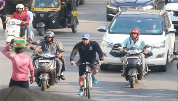 the truth behind salman khan bike riding in mumbai