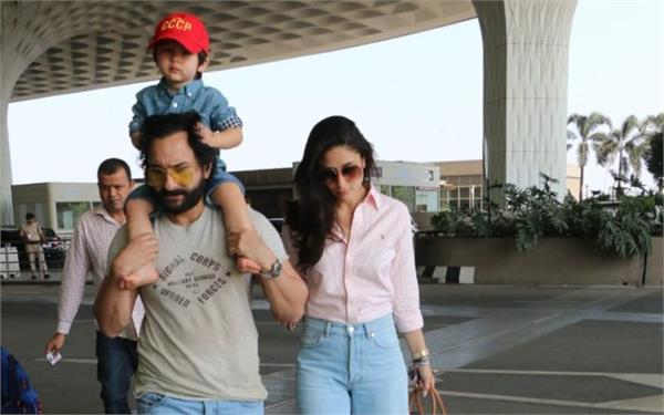 saif ali khan saying about her son taimur ali khan