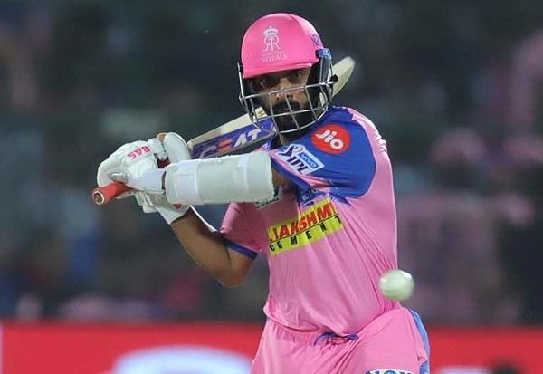 ajinkya rahane hits second century of ipl
