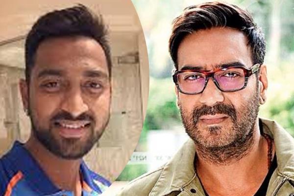 ajay devgn offer krunal pandya one movie with him