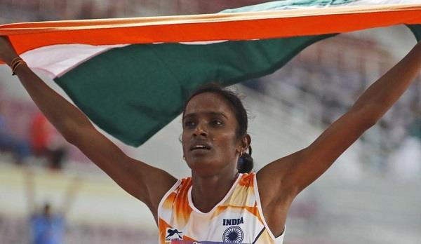 gomati gives first gold to india at asian athletics
