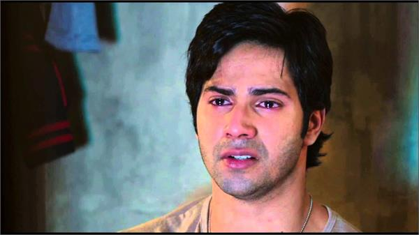 varun dhawan get emostional during shooting