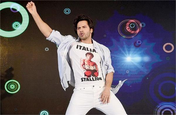 varun dhawan doing dance based movie