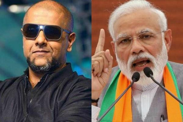 vishal dadlani criticised pm narendra modi on balakot airstrike statement