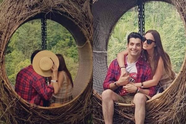 जंगल में पत्नी संग रोमांटिक हुए शरद मल्होत्रा, Kiss करते की तस्वीर वायरल