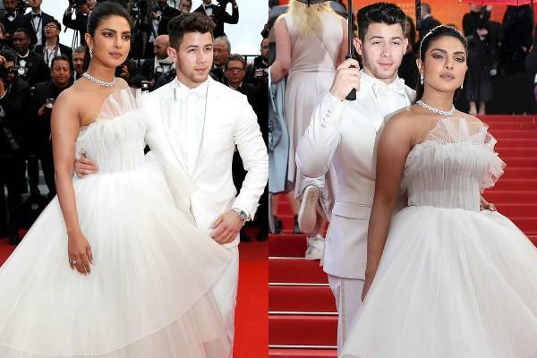 priyanka chopra nick jonas make a stupendous entry on cannes day 3