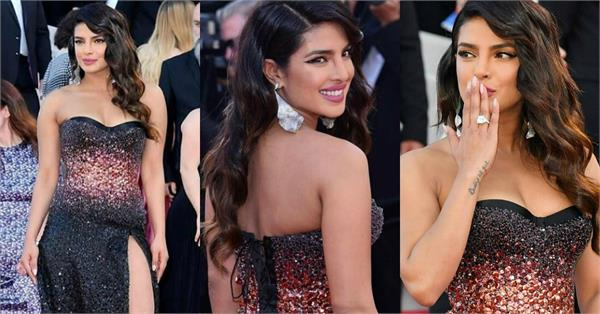 priyanka chopra stunning look at cannes 2019