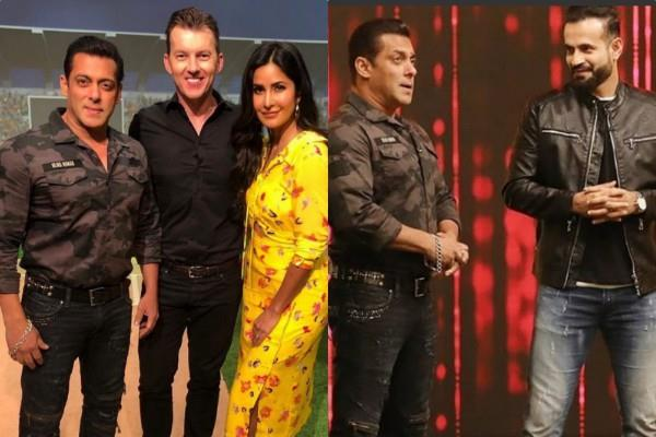 salman khan katrina kaif at ipl 12 final match for bharat promotion