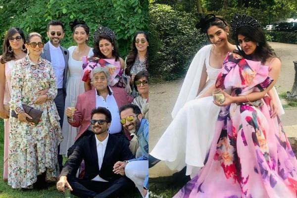 sonam kapoor attend cousin wedding in london with family