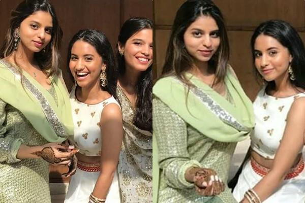 suhana khan having fun at family wedding