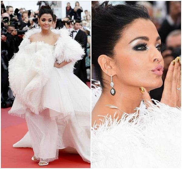 aishwarya rai bachchan second carpet look at cannes 2019