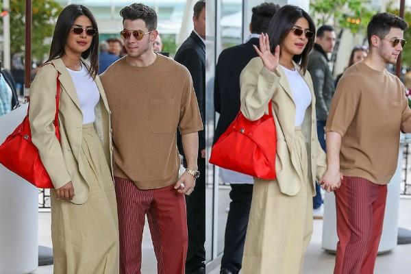 priyanka chopra spotted at french riviera airport